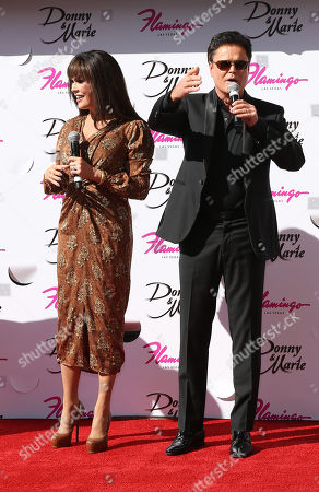 Stock Image of Marie Osmond and Donny Osmond