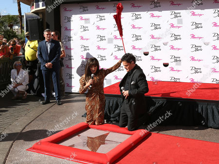 Editorial image of Marie Osmond and Donny Osmond honored on the Las Vegas Walk of Stars, USA - 04 Oct 2019