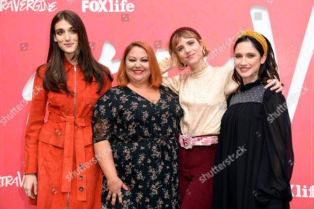 Pilar Fogliatti, Stella Pecollo, Melissa Bartolini and Lodovica Comello