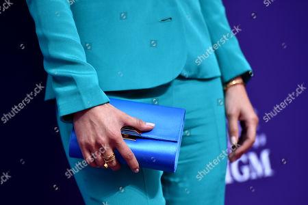 Aimee Garcia, bag detail