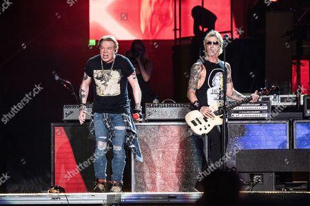 Axl Rose and Duff McKagan - Guns N' Roses