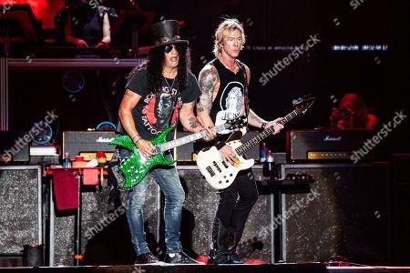 Guns N' Roses - Duff McKagan and Slash