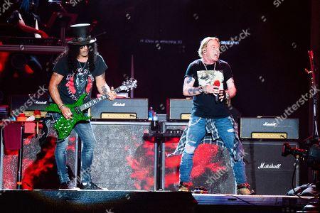 Axl Rose and Slash - Guns N' Roses