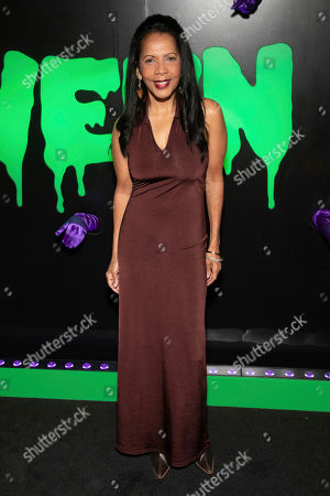 "Penny Johnson Jerald attends Hulu's ""Huluween"" television program lineup celebration during New York Comic Con at Huluween HQ, in New York"