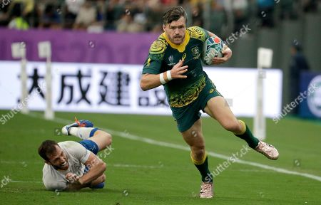 Editorial image of Rugby WCup Australia Uruguay, Oita, Japan - 05 Oct 2019