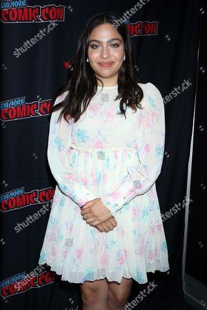 Editorial image of Marvel's 'Runaways' TV show panel, New York Comic Con, USA - 04 Oct 2019