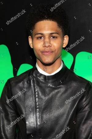 """Rhenzy Feliz attends Hulu's """"Huluween"""" television program lineup celebration during New York Comic Con at Huluween HQ, in New York"""