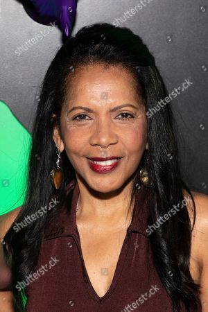 """Penny Johnson attends Hulu's """"Huluween"""" television program lineup celebration during New York Comic Con at Huluween HQ, in New York"""