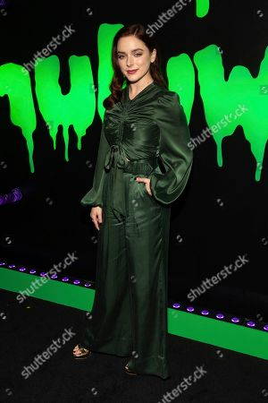 """Madison Davenport attends Hulu's """"Huluween"""" television program lineup celebration during New York Comic Con at Huluween HQ, in New York"""