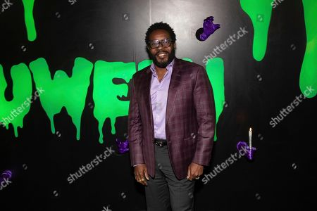 """Stock Image of Chad Coleman attends Hulu's """"Huluween"""" television program lineup celebration during New York Comic Con at Huluween HQ, in New York"""