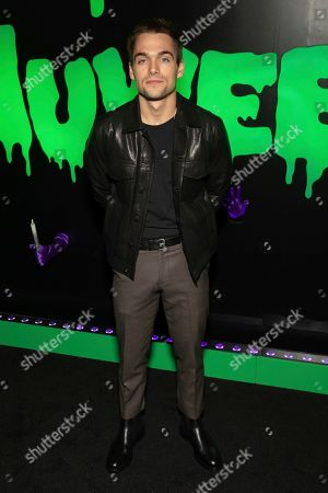 "Dylan Sprayberry attends Hulu's ""Huluween"" television program lineup celebration during New York Comic Con at Huluween HQ, in New York"