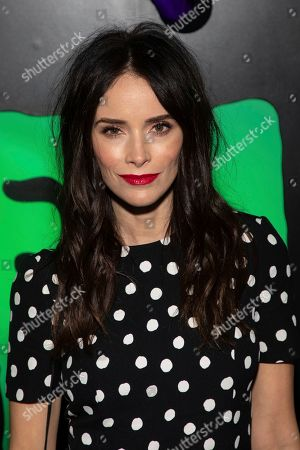 """Abigail Spencer attends Hulu's """"Huluween"""" television program lineup celebration during New York Comic Con at Huluween HQ, in New York"""