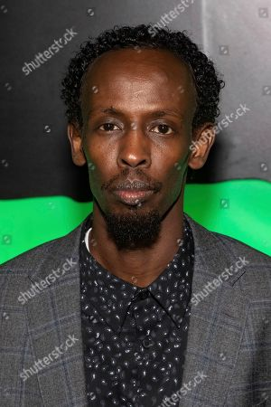 "Barkhad Abdi attends Hulu's ""Huluween"" television program lineup celebration during New York Comic Con at Huluween HQ, in New York"