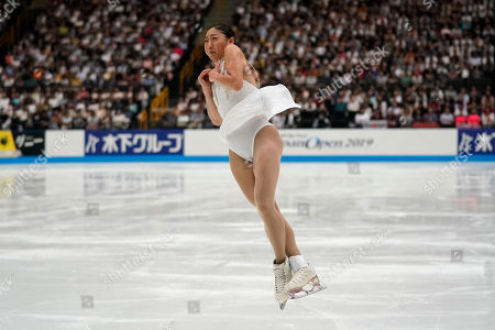 Nagasu of the United States performs her women's free skating routine during Japan Open figure skating team competition at Saitama Super Arena in Saitama. Mirai Nagasu of the United States performs her women's free skating routine during the Japan Open figure skating team competition at Saitama Super Arena in Saitama, Japan
