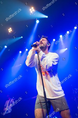 Editorial photo of Jon Bellion in concert at the Roundhouse, London, UK - 04 Oct 2019