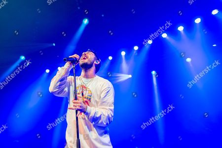 Editorial image of Jon Bellion in concert at the Roundhouse, London, UK - 04 Oct 2019
