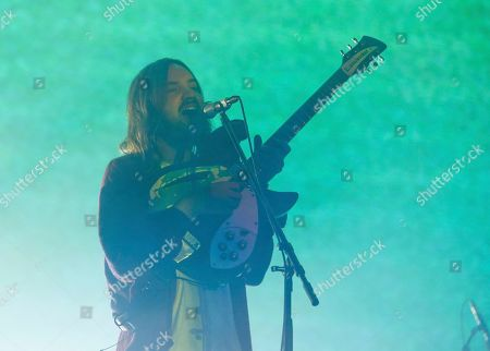 Tame Impala's Kevin Parker performs during the first weekend of the Austin City Limits Music Festival in Zilker Park, in Austin, Texas