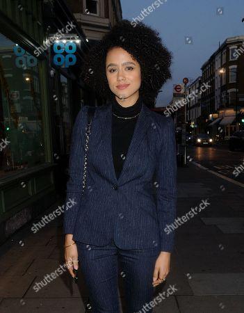 Stock Photo of Nathalie Emmanuel