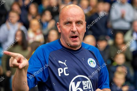 Stock Picture of Wigan Athletic Manager Paul Cook during the EFL Sky Bet Championship match between Sheffield Wednesday and Wigan Athletic at Hillsborough, Sheffield