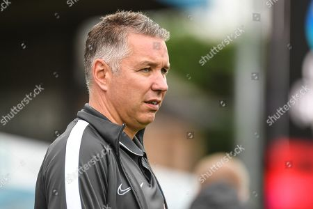 Peterborough United manager Darren Ferguson during the EFL Sky Bet League 1 match between Wycombe Wanderers and Peterborough United at Adams Park, High Wycombe