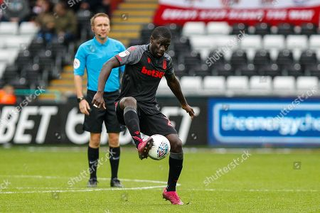 Badou Ndiaye of Stoke City