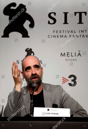 Editorial picture of Advantages of Travelling by Train - 52nd Sitges Fantastic Film Festival, Barcelona, Spain - 05 Oct 2019