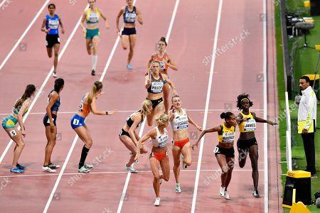 Editorial picture of Athletics Worlds, Doha, Qatar - 05 Oct 2019
