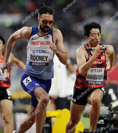 Editorial photo of Athletics Worlds, Doha, Qatar - 05 Oct 2019