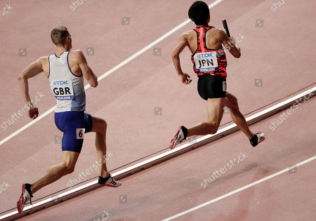 Editorial picture of Athletics Worlds, Doha, Qatar - 05 Oct 2019