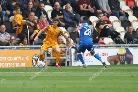 Editorial photo of Newport County v Carlisle United - Sky Bet League 2 - 05 Oct 2019