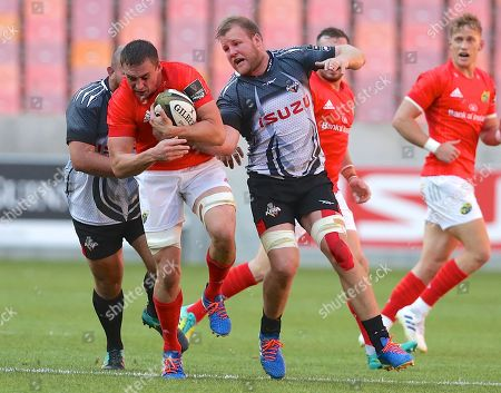 Stock Picture of Isuzu Southern Kings vs Munster. Tommy O'Donnell of Munster