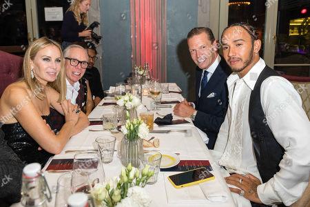 Editorial picture of Tommy Hilfiger dinner at Restaurant Razzia, Inside, Zurich, Switzerland - 04 Oct 2019