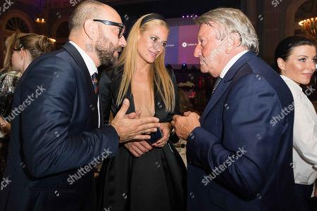 Christa Rigozzi, Giovanni Marchese and Ernst Tanner
