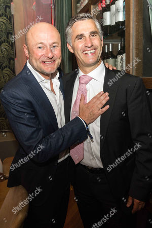 Stock Photo of Georges Kern and Felix Graf