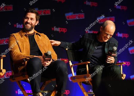 Stock Picture of John Krasinski and Michael Kelly