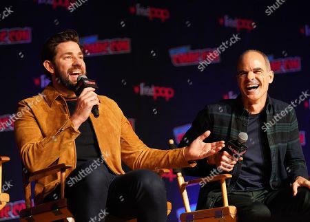 Editorial image of Amazon Prime's 'Tom Clancy's Jack Ryan' TV show panel, New York Comic Con, USA - 05 Oct 2019