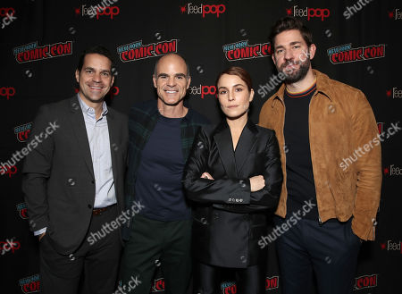 Editorial picture of Amazon Prime's 'Tom Clancy's Jack Ryan' TV show panel, New York Comic Con, USA - 05 Oct 2019