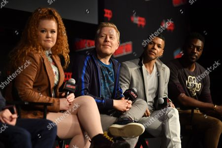 Mary Wiseman, Anthony Rapp, Wilson Cruz and David Ajala