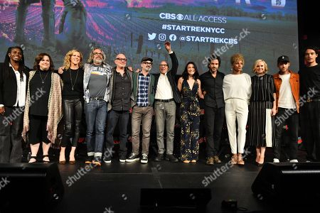 Editorial picture of 'Star Trek Universe' TV show panel, New York Comic Con, USA - 05 Oct 2019