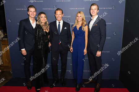 Daniel Grieder and family