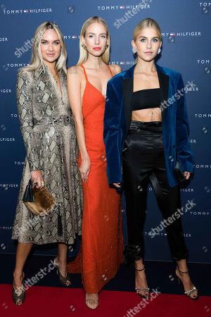 Stock Photo of Nina Suess, Leonie Hanne and Caroline Daur