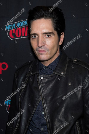 """Stock Picture of David Dastmalchian attends New York Comic Con to promote Hulu's """"Reprisal"""" at the Jacob K. Javits Convention Center, in New York"""