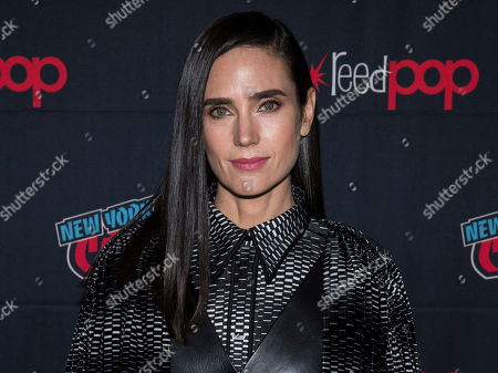 """Stock Photo of Jennifer Connelly attends New York Comic Con to promote TNT's """"Snowpiercer"""" at the Hammerstein Ballroom, in New York"""