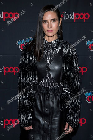 """Jennifer Connelly attends New York Comic Con to promote TNT's """"Snowpiercer"""" at the Hammerstein Ballroom, in New York"""