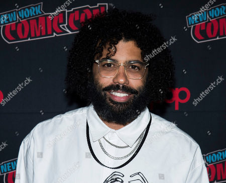 """Stock Photo of Daveed Diggs attends New York Comic Con to promote TNT's """"Snowpiercer"""" at the Hammerstein Ballroom, in New York"""