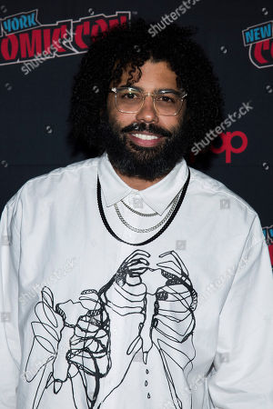 """Daveed Diggs attends New York Comic Con to promote TNT's """"Snowpiercer"""" at the Hammerstein Ballroom, in New York"""