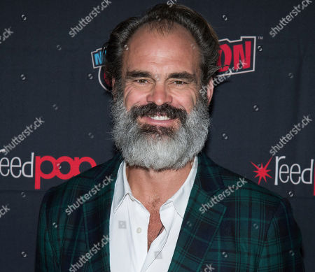 "Stock Picture of Steven Ogg attends New York Comic Con to promote TNT's ""Snowpiercer"" at the Hammerstein Ballroom, in New York"