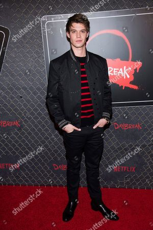 "Colin Ford attends New York Comic Con to promote Netflix's ""Daybreak"" at the Jacob K. Javits Convention Center, in New York"