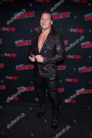 "Chris Jericho attends New York Comic Con to promote TNT's ""All Elite Wrestling: Dynamite"" at the Jacob K. Javits Convention Center, in New York"