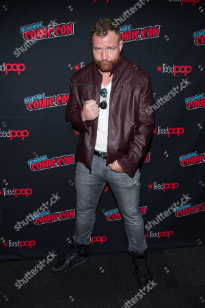"Jon Moxley attends New York Comic Con to promote TNT's ""All Elite Wrestling: Dynamite"" at the Jacob K. Javits Convention Center, in New York"